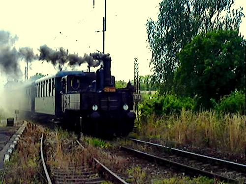 Pivovarský vlak prijíždí