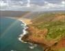 A costa de S. Martinho e o arco-iris