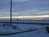 Sunrise at the cap site.