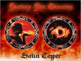 Amamara´s Fantasy Fire Geocoin