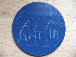 Amberel - Church Micro Series Geocoin