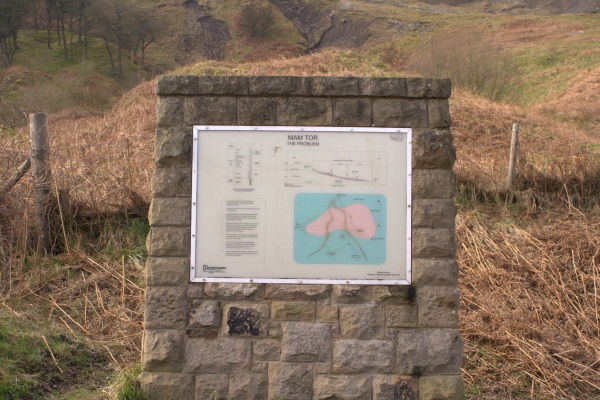 the Information board