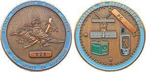 Belted Kingfisher Geocoin