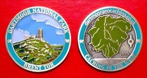 Dartmoor 2019 Race Geo Coin
