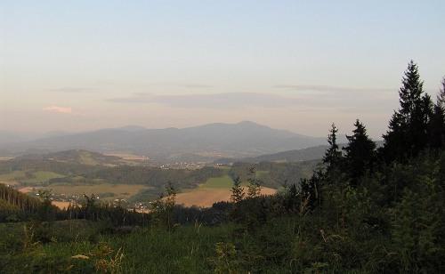 Výhled na Lysou horu