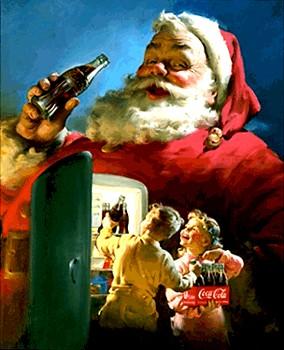 Weihnachtsmann à la Coca-Cola