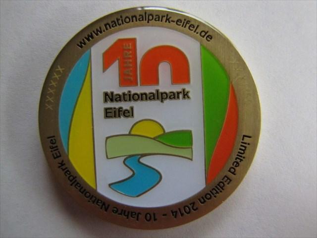 EventCoin - 10 Jahre Nationalpark Eifel - Antikbronze - Vorderseite