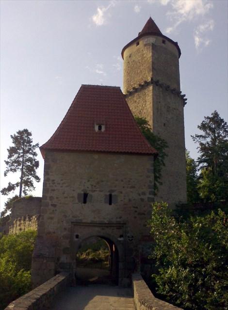 Písecká brána a štítová věž