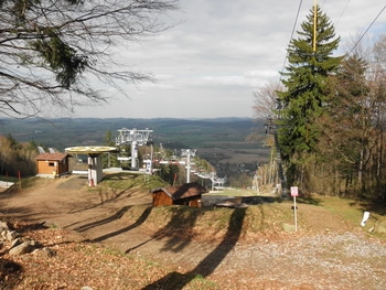 Horní stanice Ski areálu Monínec