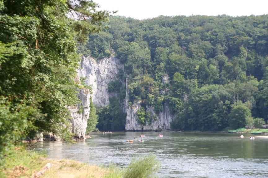 Donaudurchbruch unterhalb des Caches