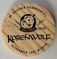 Korenwolf Wooden Coin