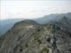 VdD on the summit ridge heading towards the cap.