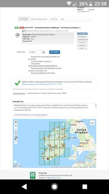Zero G Map Of Ireland.Gc31y9t Ireland Northwest Challenge Evil Version Unknown Cache