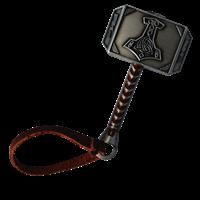 LordT's Mega Thor Hammer Geocoin - Front