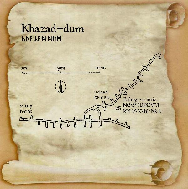 mapa Morie