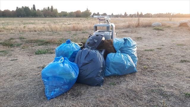 Müllausbeute