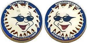 SunshineGang Geocoin