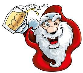 Papa Noël Cerveza