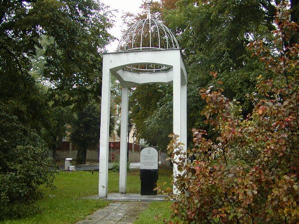 Památník holocaustu/Holocaust memorial