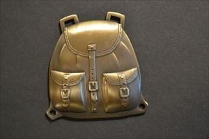 Backbag Geocoin