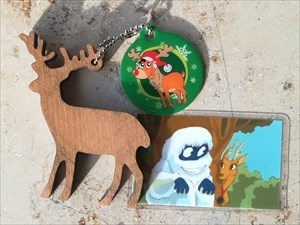Santa's Reindeer OLIVE