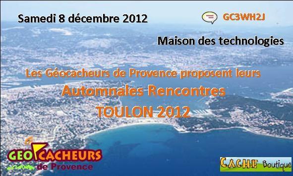 Automnales rencontres 2012