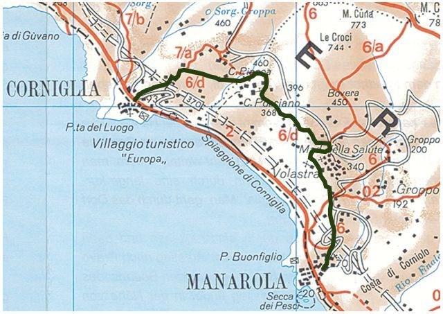 Corniglia Italy Map.Gc565b4 Volastra Mare Cielo Vigneti E Ulivi Traditional Cache