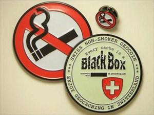 Non-Smoker Geocoin