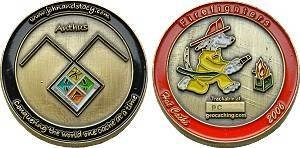 Anthus Geocoin