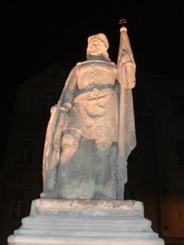 socha v noci