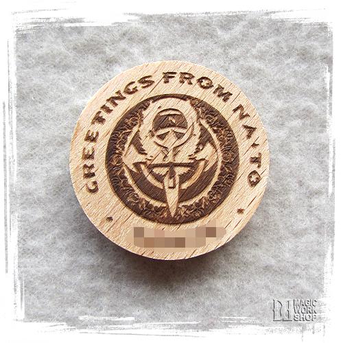NATO-Woodcoins