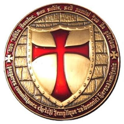 (tb4m360) templar geocoin duke´s templar coin