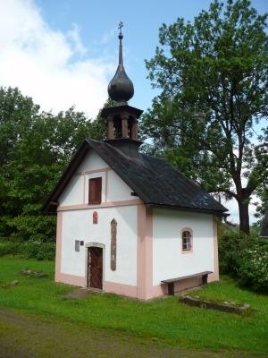 Kaple v Malém Kozím Hřbetu