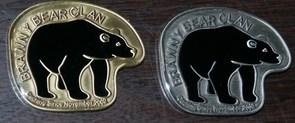 Brawny Bear Clan Geocoin