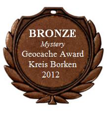 BRONZE (Mystery) - Geocaching Award Kreis Borken 2012
