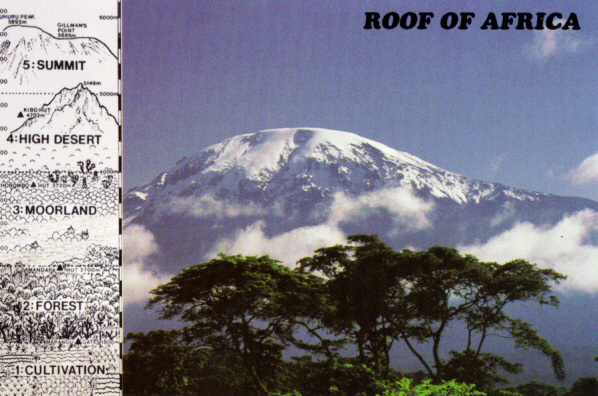 GC1X8A0 Kilimanjaro Climate Zones (Earthcache) in Tanzania created ...