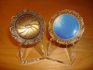 Grongduur's Stargate-Coin (Gold)