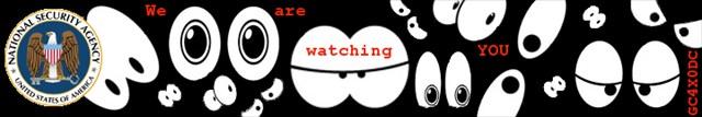 Banner zum Geocache GC4X0DC - WE are watching YOU