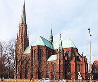 Kostel sv. Trojice v polske Bytomi