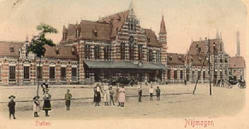 NS station Nijmegen in 1890