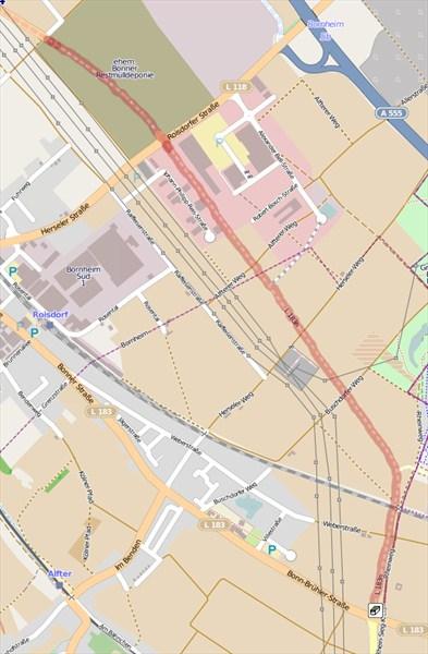 Karte mit L183n