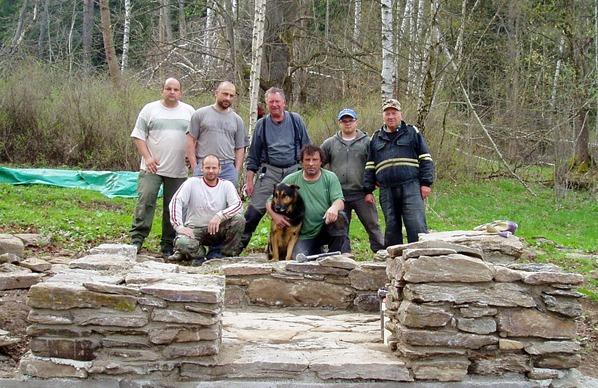 Obnova kaple: Čeněk Šebesta a přátelé