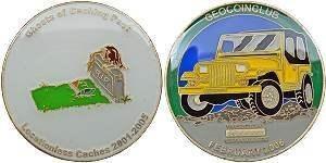 Geocoin Club Coin (Aug 2005 - Mar 2006)