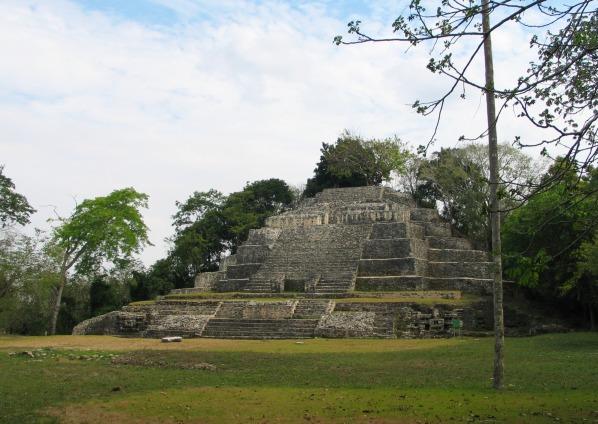 Chrám jaguára, Lamanai