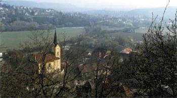 kostel Vsenory