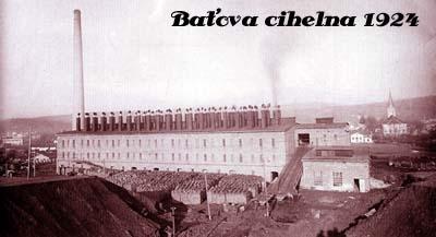 Batova cihelna 1924