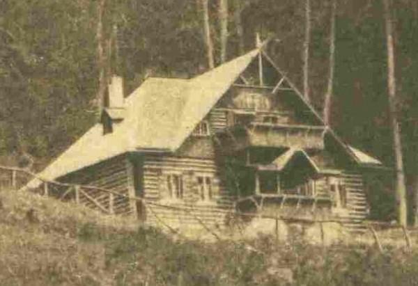 Fanny hütte 1921