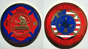 The Firefighter Geocoin of Erfurt