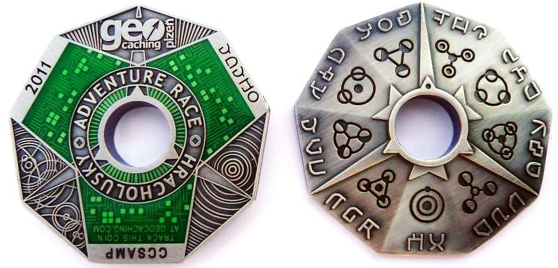 První vzorek coinu - klikem zvetši