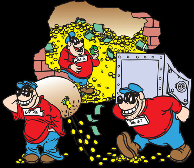 Bildergebnis für panzerknacker geldspeicher